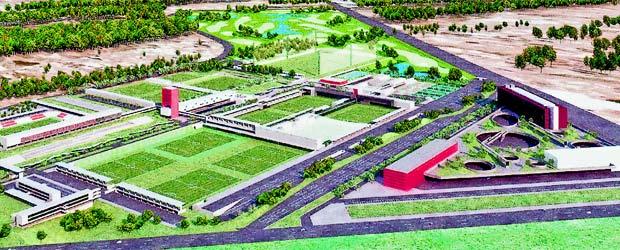 Proyecto de la futura ciudad deportiva del atl tico for India diva futura