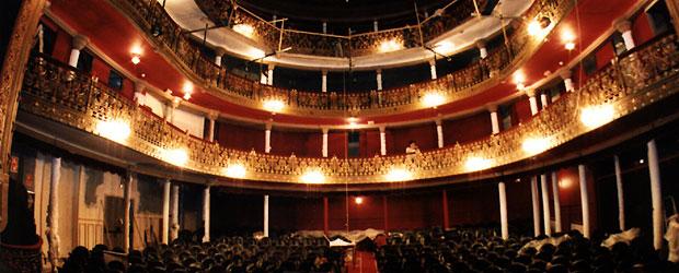 Patio De Butacas Del Teatro Lara Edici 243 N Impresa El Pa 205 S