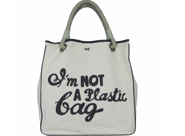 Bolso De Tela Para Hacer La Compra Sin Utilizar Bolsas De Plástico