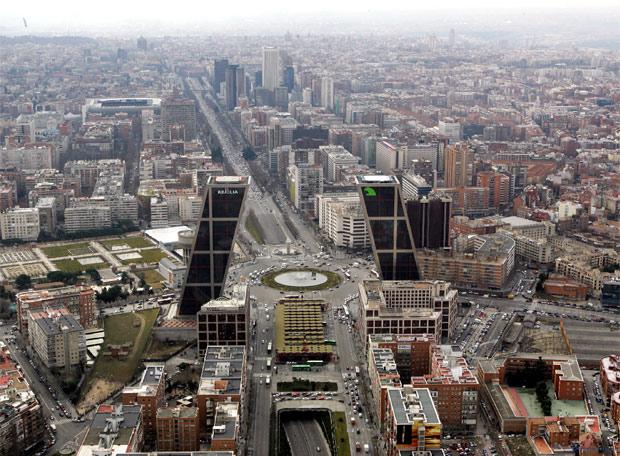 b029fc56 Vista aérea del paseo de la Castellana, protagonista de esta Semana de la  Arquitectura.