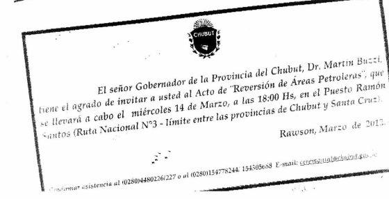 Un Gobernador Argentino Invita Al Acto De Expropiación De