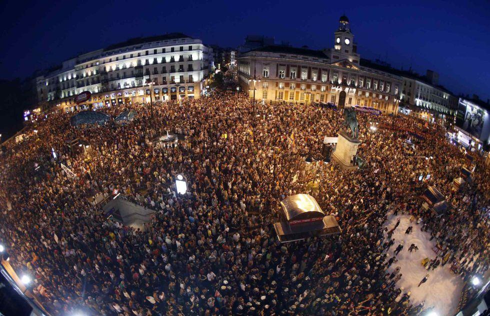 Fotos la calle contra las tijeras econom a el pa s for Televisan el madrid hoy