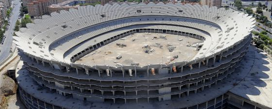 Bancaja encubrió la quiebra del Valencia Club de Fútbol con préstamos de  riesgo  648eb1c13