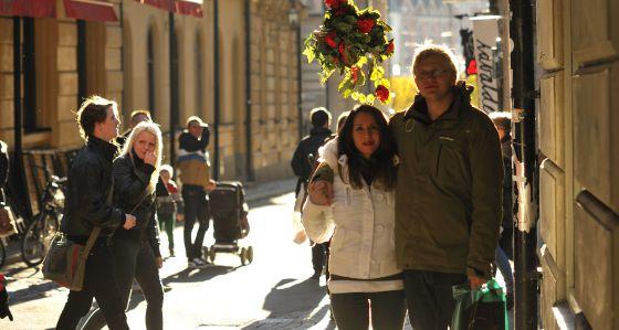 1ed153055 Noemi Boix junto a su pareja en Suecia.