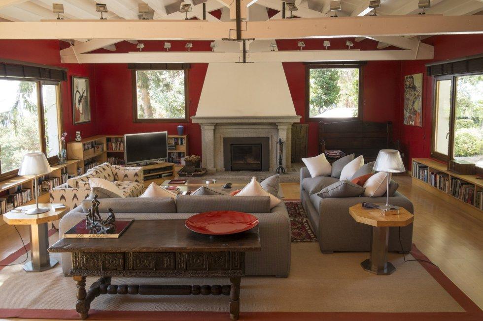 Fotos casas singulares econom a el pa s for Salon de 40 metros cuadrados