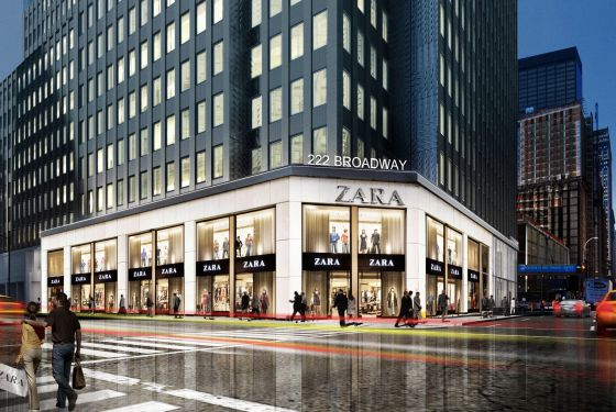 zara abre una tienda en pleno centro financiero de manhattan econom a el pa s. Black Bedroom Furniture Sets. Home Design Ideas