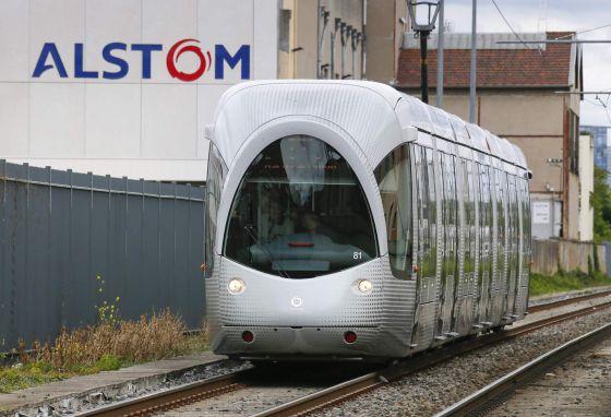Francia se moviliza contra la venta de alstom a general - General electric madrid ...