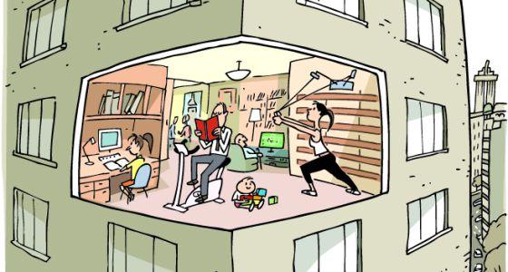 C mo montar un gimnasio en casa vivienda el pa s - Gimnasios en casa ...