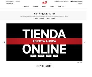 664905c69 Las tiendas de ropa H M empiezan a vender por Internet en España ...