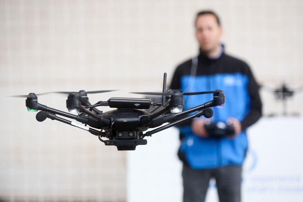 Drones y robótica en las Navidades Científicas de Las Palmas de Gran Canaria
