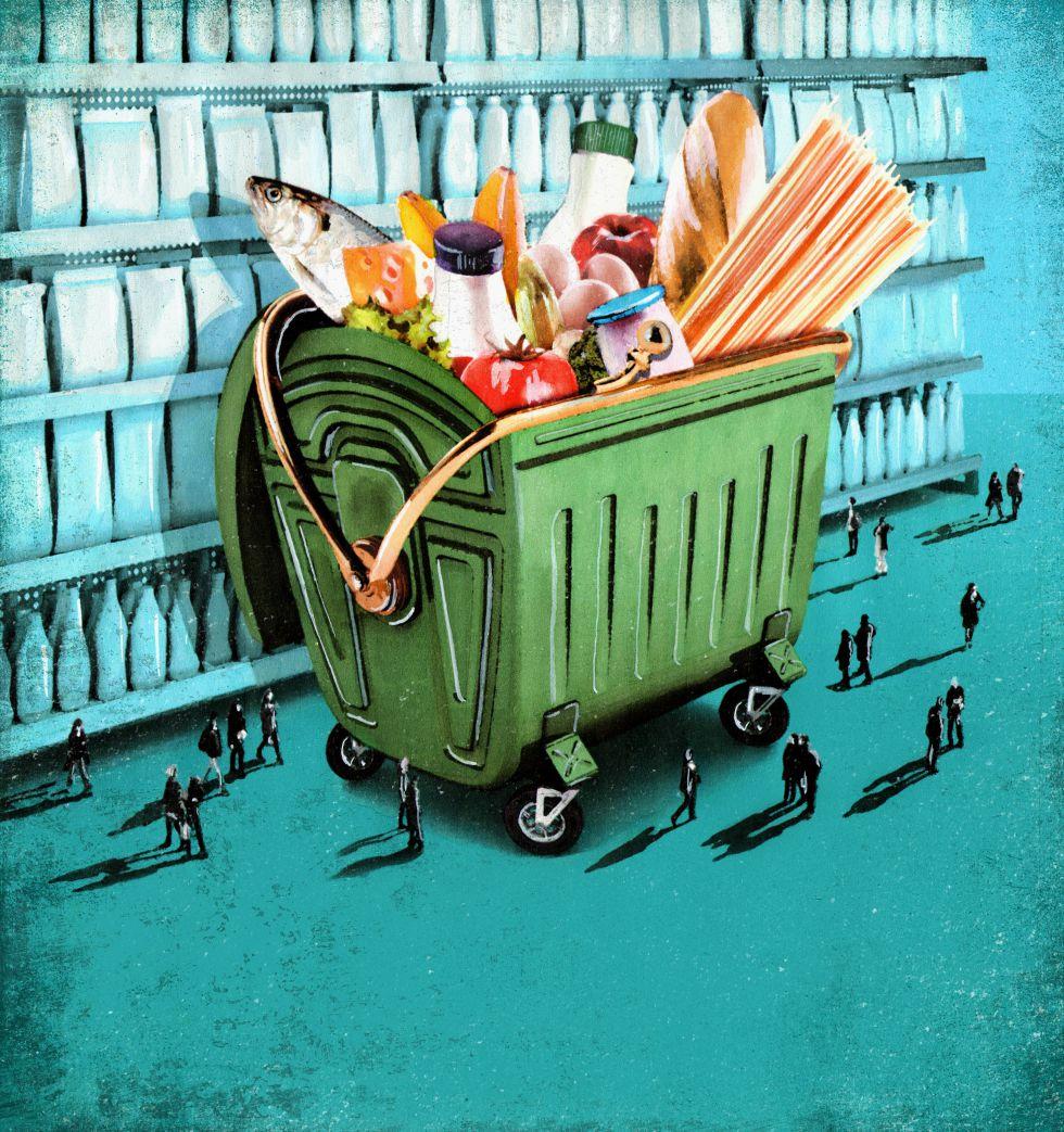 El mal negocio de tirar alimentos | Economía | EL PAÍS
