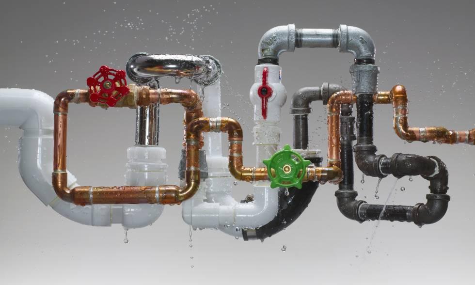 Las tuberías se liberan de las obras | Economía | EL PAÍS