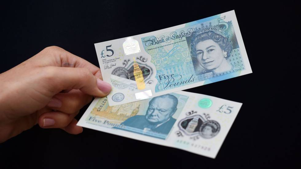 El Nuevo Billete De Cinco Libras Será De Plástico Economía El País
