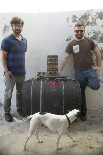 62838ca64d David Pérez (izquierda) y Jesús Pérez, creadores de Pantai.