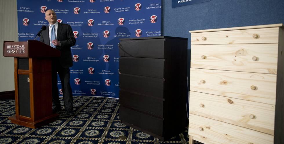 Ikea retira en EE UU la cómoda Malm tras la muerte de tres niños ...