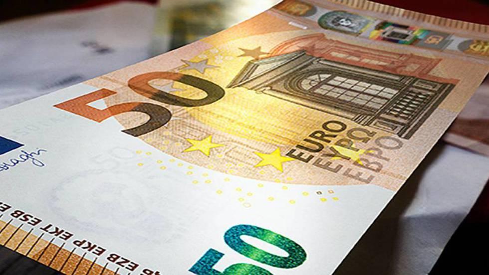 el bce presenta el nuevo billete de 50 euros que circular a partir de 2017 econom a el pa s. Black Bedroom Furniture Sets. Home Design Ideas
