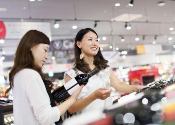 Más ventas de vino pero menos exclusivas