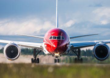 Un avión de Norwegian bate el récord del vuelo transatlántico subsónico más rápido