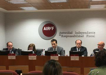La Autoridad Fiscal no se cree el programa de estabilidad porque los gastos están infravalorados