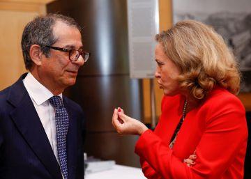 Nadia Calviño evita comprometerse con el objetivo de déficit de 2018