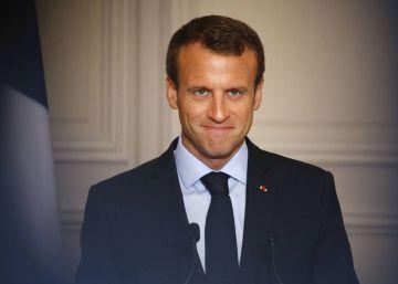 Macron se esfuerza por atraer bancos a París en plena tormenta del Brexit