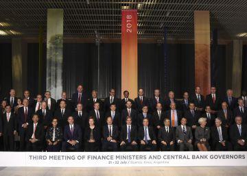 El G-20 advierte del riesgo para el crecimiento por la tensión comercial y llama al diálogo