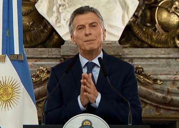 Macri lanza un duro ajuste fiscal para contener la crisis en Argentina