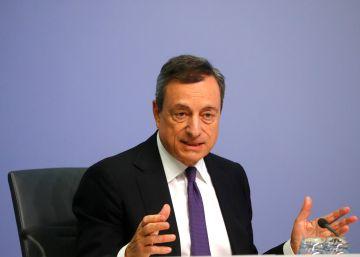 El BCE rebaja sus previsiones de crecimiento pero mantiene sus planes de retirada de compra de activos