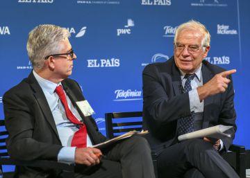 Borrell dice que la democracia española está más desarrollada que la belga