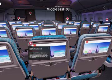 Realidad virtual para elegir cómo volar