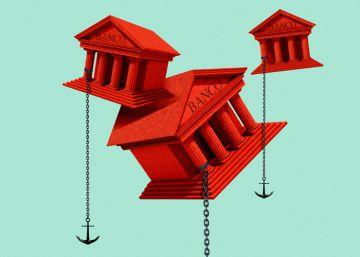 Los lastres que impiden despegar a la banca