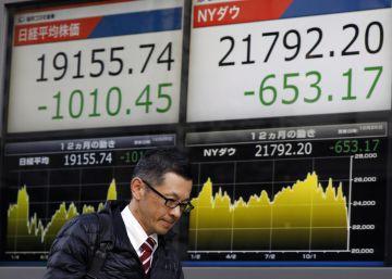 Las Bolsas mundiales se tiñen de rojo por Navidad