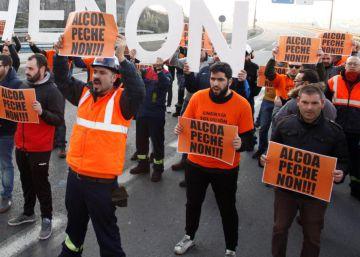 Preacuerdo entre Alcoa y sindicatos para mantener el empleo seis meses