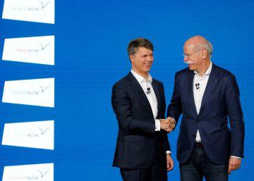 Mercedes y BMW invertirán 1.000 millones para competir con Uber y el coche compartido