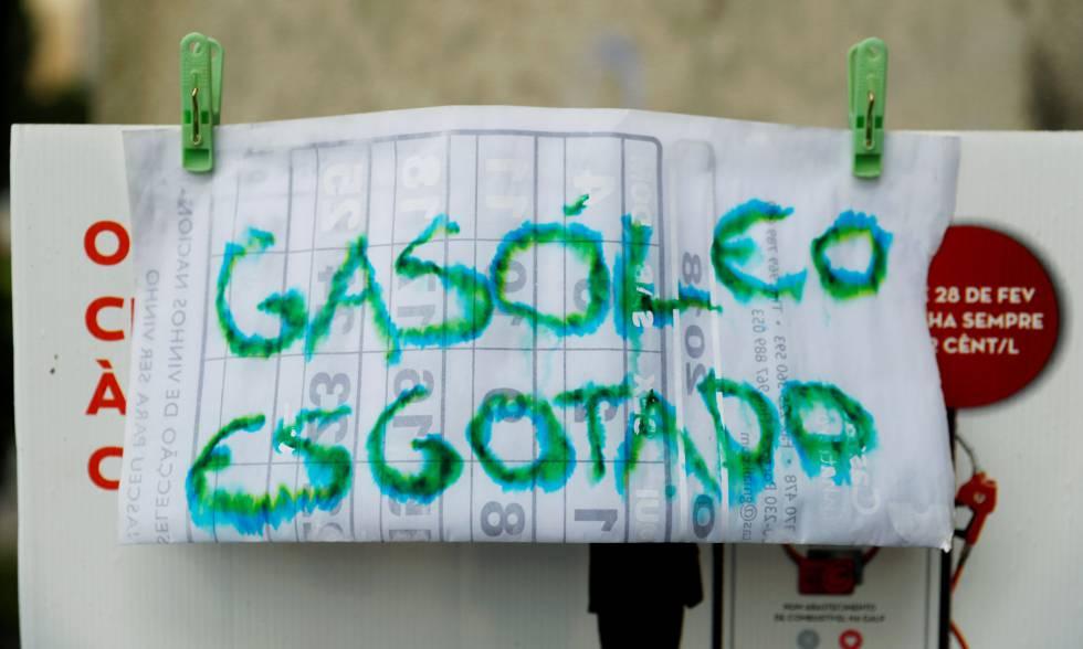 1.200 gasolineras cierran en Portugal por falta de combustible ante la huelga de transportistas