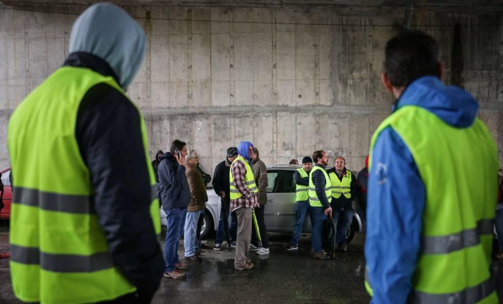 Dos sindicatos y 1.200 irreductibles que han puesto patas arriba todo Portugal