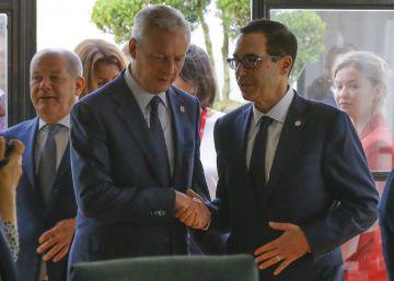 El G-7 acuerda avanzar en un cambio fiscal que grave las actividades digitales