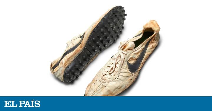 Grabar Aflojar Ocultación  Un empresario canadiense paga 437.000 dólares por unas viejas zapatillas  Nike, récord histórico | Economía | EL PAÍS