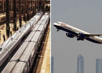 Los viajes en tren y en avión dentro de España viven un junio de récord