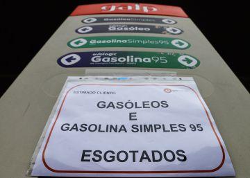 Portugal raciona la gasolina para evitar desabastecimiento por la huelga de transportistas