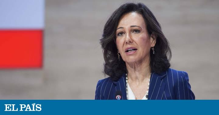 El agitado lustro de Ana Botín en el Santander