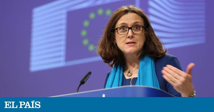 Bruselas anuncia represalias tras la imposición de EE UU de nuevos aranceles a Europa