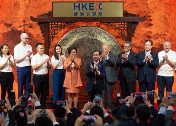 Alibaba sube más de un 6% en su debut en la Bolsa de Hong Kong