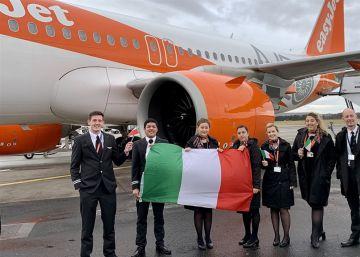 easyJet cancelará vuelos a Italia por el coronavirus