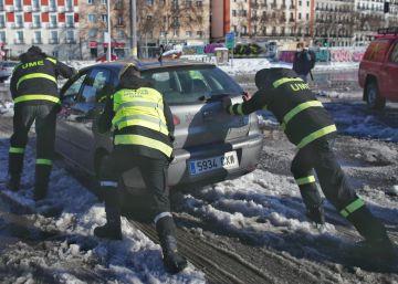 Borrasca 'Filomena': ¿pueden descontarme sueldo si no consigo llegar al trabajo por la nieve?
