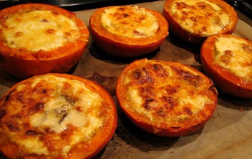 Cocinar Calabaza Al Horno | Potimarrones Rellenos De Beicon Queso Y Crema Fresca El Comidista