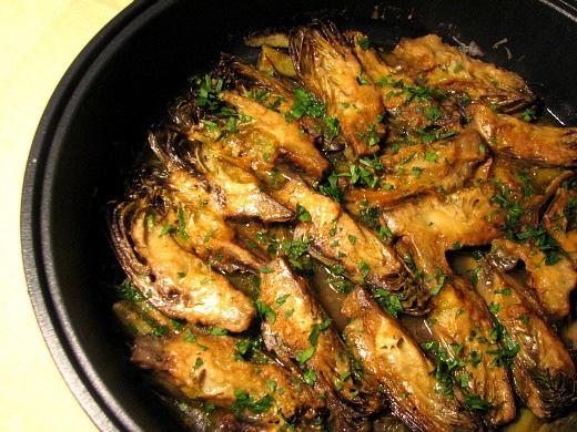 Alcachofas de la 39 nonna 39 sara el comidista el pa s for Como cocinar alubias de bote