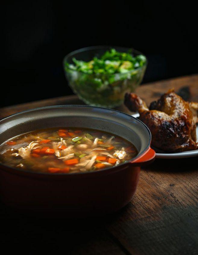 Como preparar caldo de verduras sin grasa