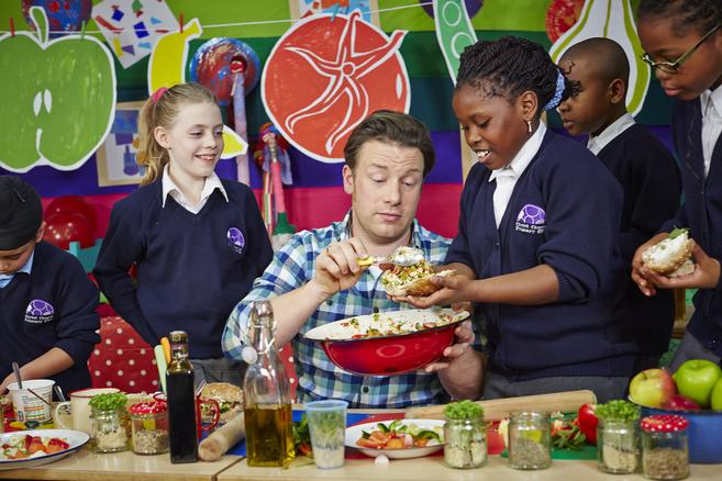 Jamie Oliver C Cocina | Jamie Oliver La Comida Deberia Ser Una Asignatura Como Matematicas