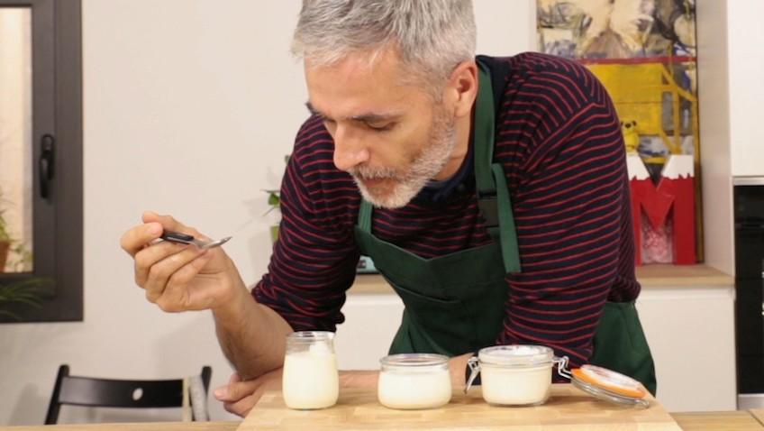 como preparar yogur casero sin yogurtera